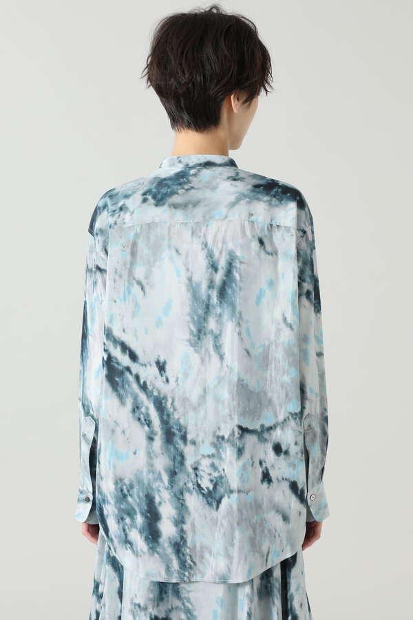 タイダイプリントシャツ