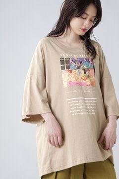 アートプリントTシャツ