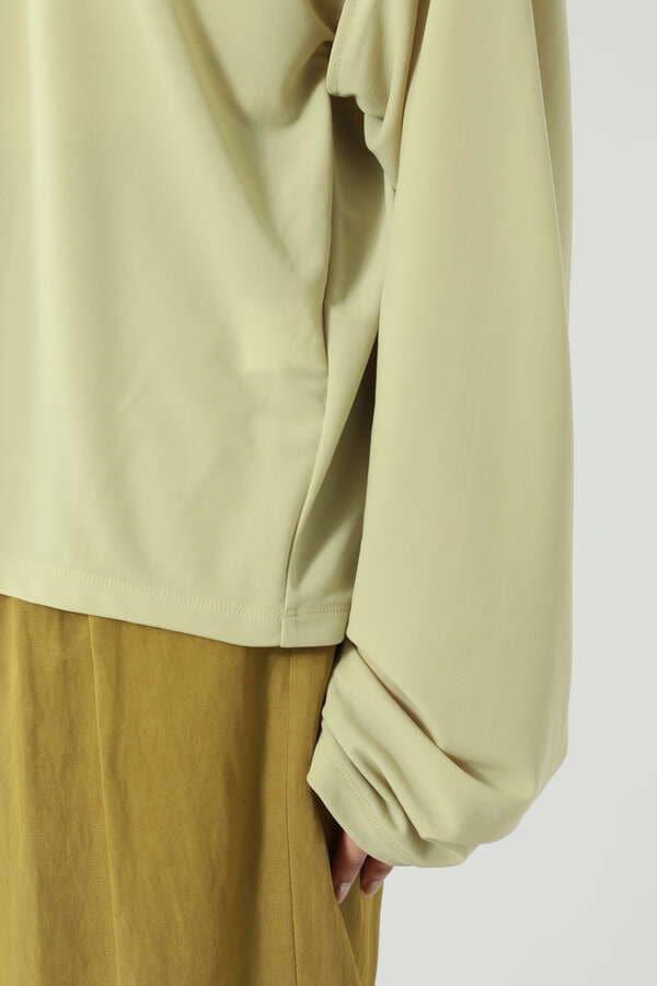 スリーブスリットロングTシャツ