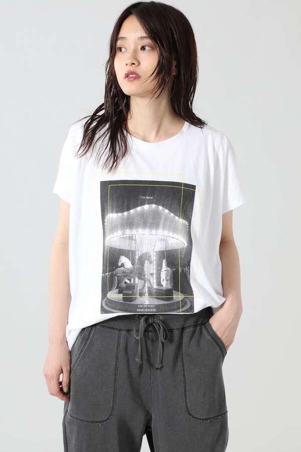 オリジナルフォト&メッセージプリントTシャツ