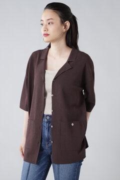 【先行予約 7月下旬-8月上旬入荷予定】ニットシャツジャケット