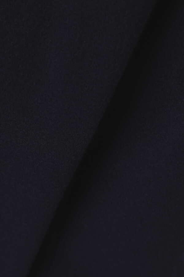 ステンカラーウールコート