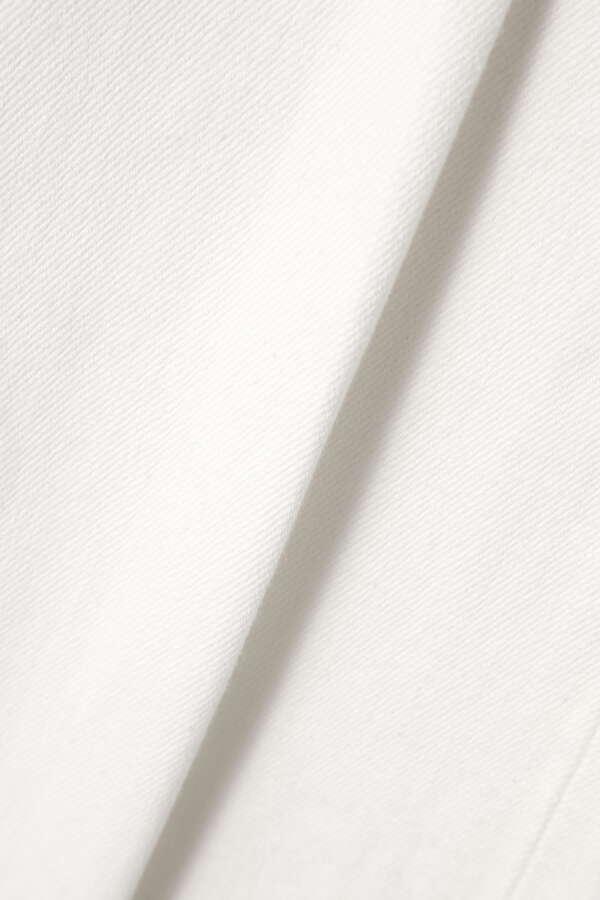 スリムストレートストレッチホワイト