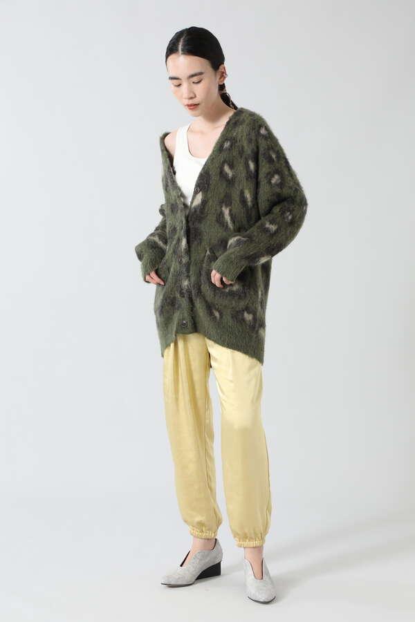 サテンジョガーパンツ