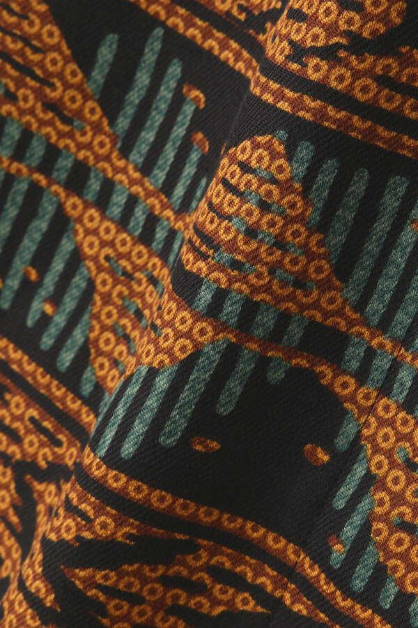 アフリカン柄ストレートスカート