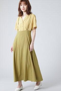 【先行予約 6月下旬-7月上旬入荷予定】ストラップハイウエストスカート