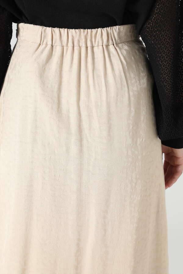 フリルジャカードスカート