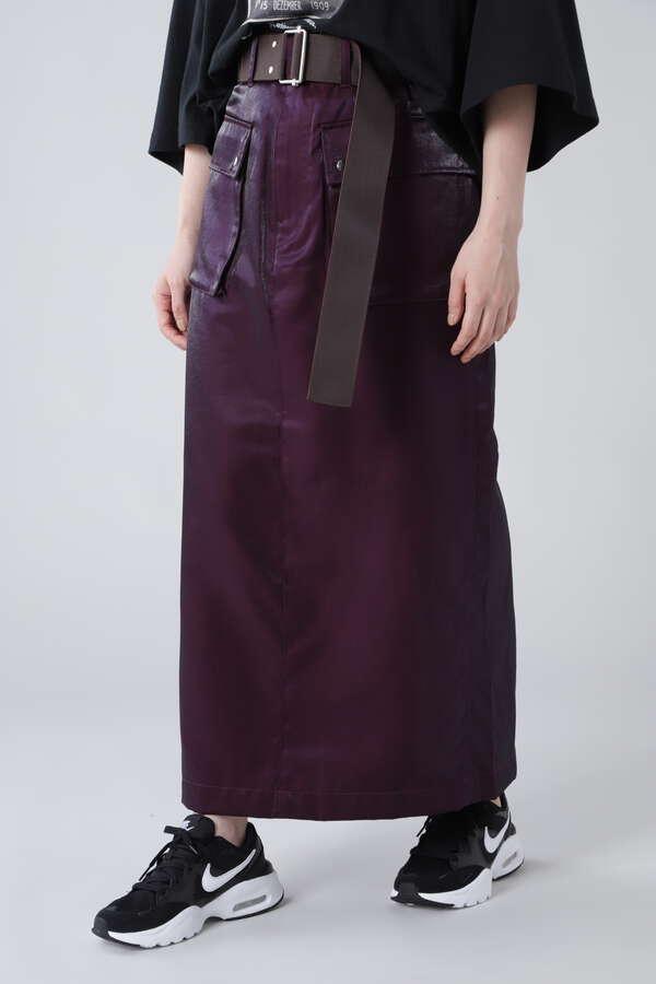 アウトポケットシャイニースカート