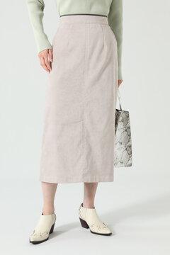 【先行予約 9月上旬-9月中旬入荷予定】フェイクスエードフレアスカート