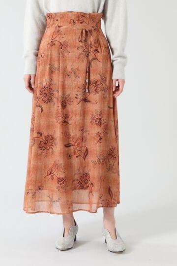 ウエストタックフレアスカート