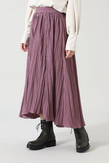 ワッシャーボリュームスカート