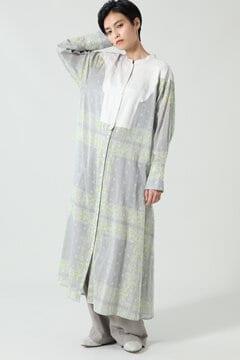 【先行予約 7月下旬-8月上旬入荷予定】バンダナプリントロングドレスシャツ