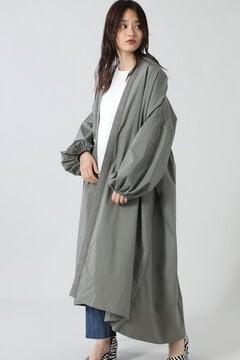 【先行予約 7月下旬-8月上旬入荷予定】2wayリラックススモックコートドレス