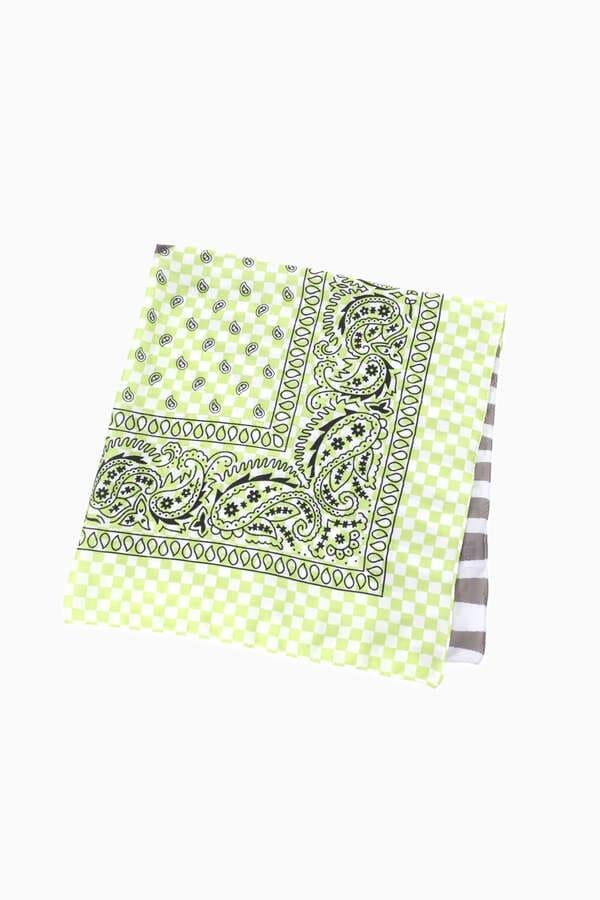 <WEB限定>バンダナプリントスカーフ
