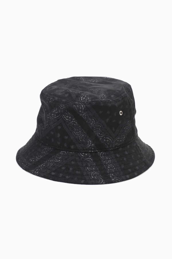 <WEB限定>シースルーバンダナプリントバケットハット