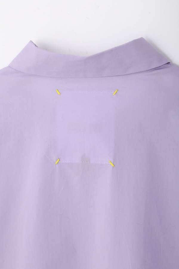 スリットスリーブシャツ