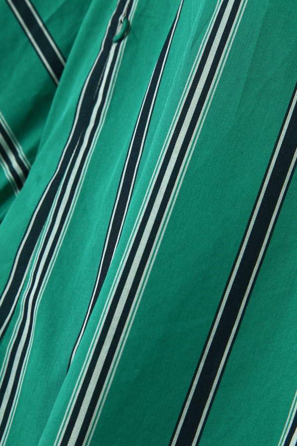 マルチストライプレギュラーカラーシャツ