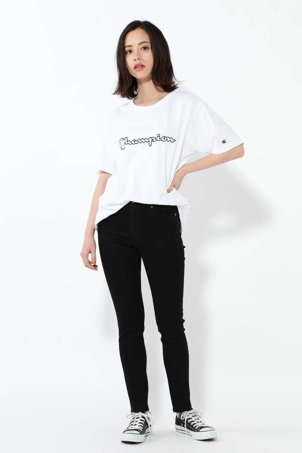 【ROSEBUD別注】チャンピオンシンプルロゴTシャツ