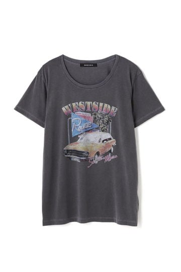 ヴィンテージ風プリントTシャツ