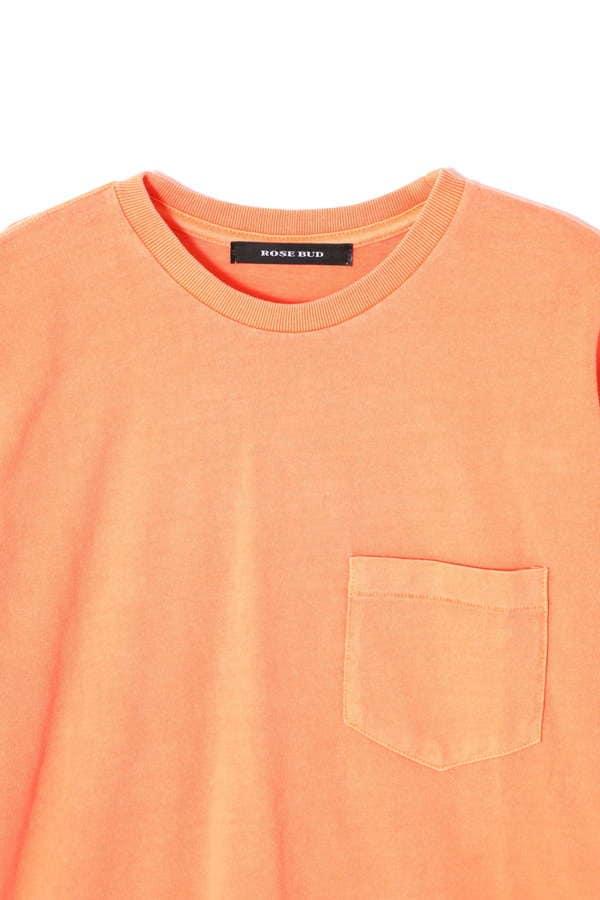 ウォッシュドシンプルTシャツ