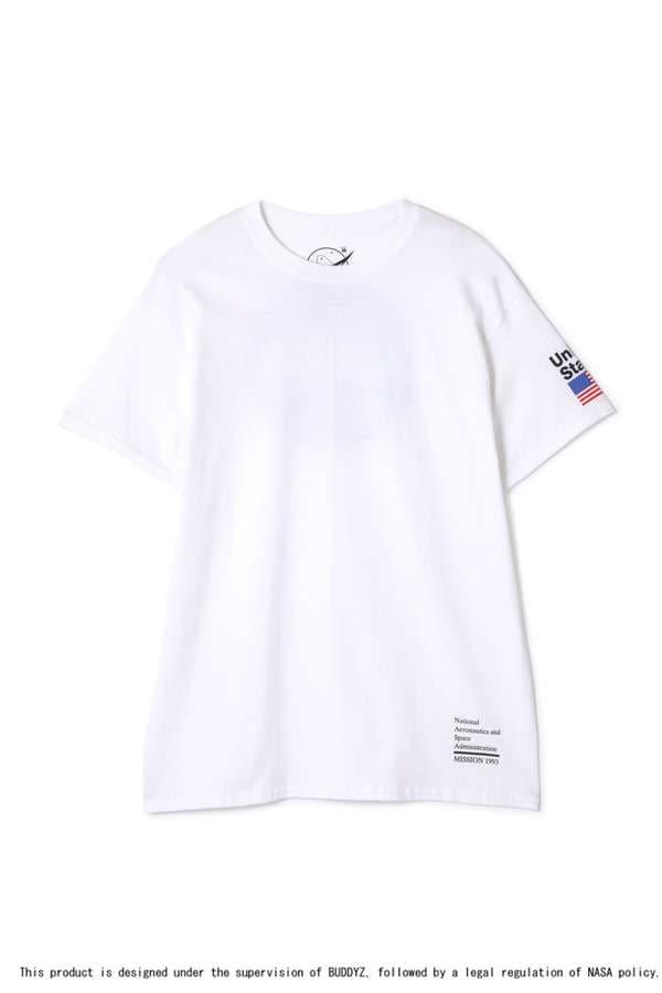 【先行予約 6月上旬-中旬入荷予定】【ROSEBUD別注】NASAプリントTシャツ