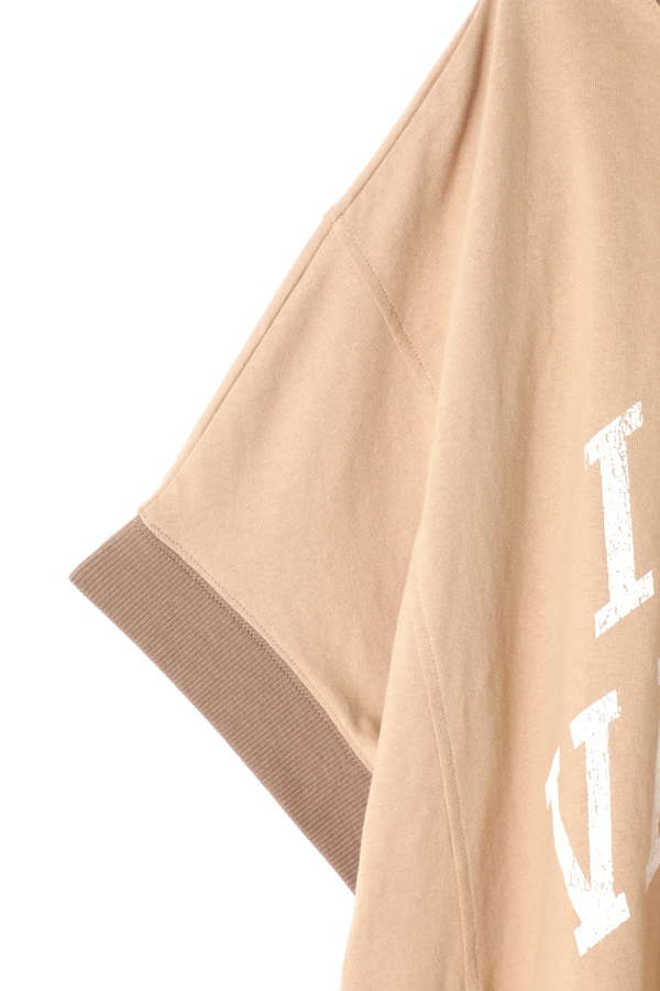 ビッグカレッジロゴTシャツ