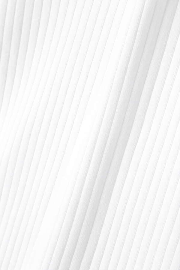 リブ半袖カットソー