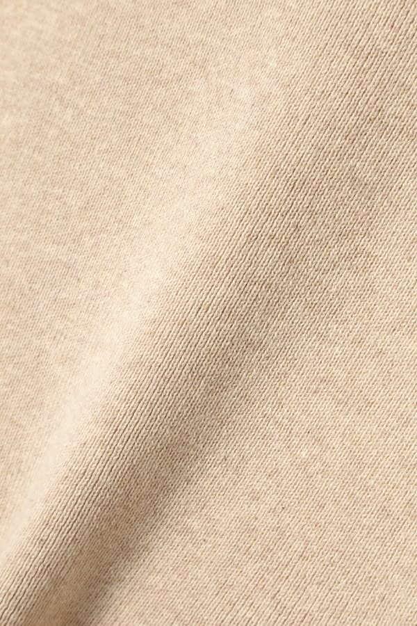 フラワー刺繍ニットキャミソール