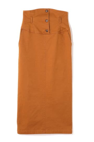 ハイウエストロングスカート
