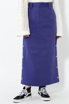 【ROSE BUD別注】Dickiesサイドボタンロングスカート