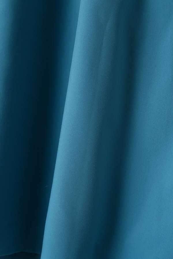 サイドリボンフレアスカート