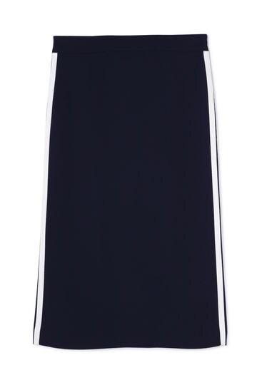 サイドストライプタイトスカート