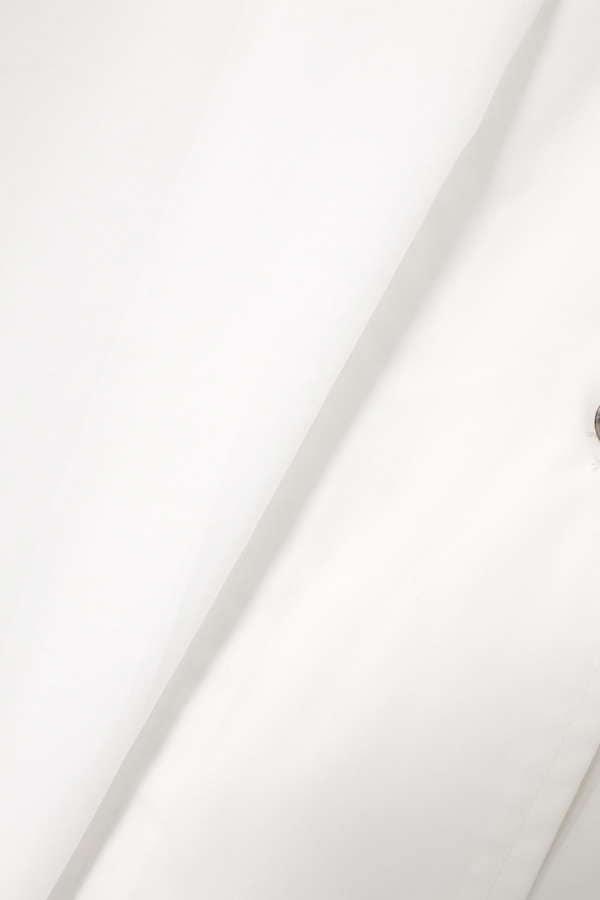 フレンチスリーブ開襟シャツブラウス
