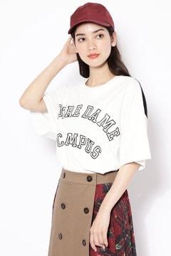 カレッジロゴTシャツ