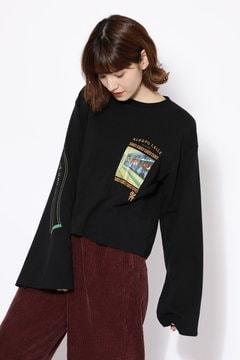 [ViVi12月号掲載]チャイナタウンロングTシャツ