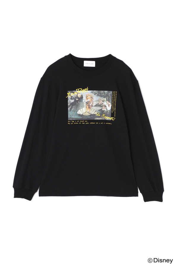 グラフィックロングTシャツ