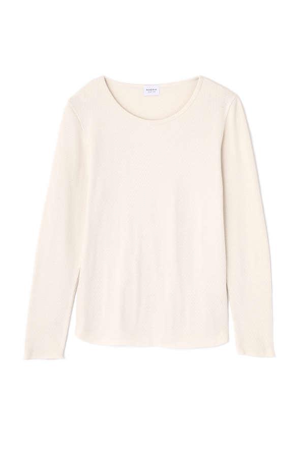 ワッフルロングTシャツ