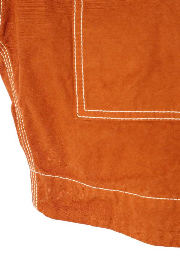 3way配色ステッチショート丈ジャケット