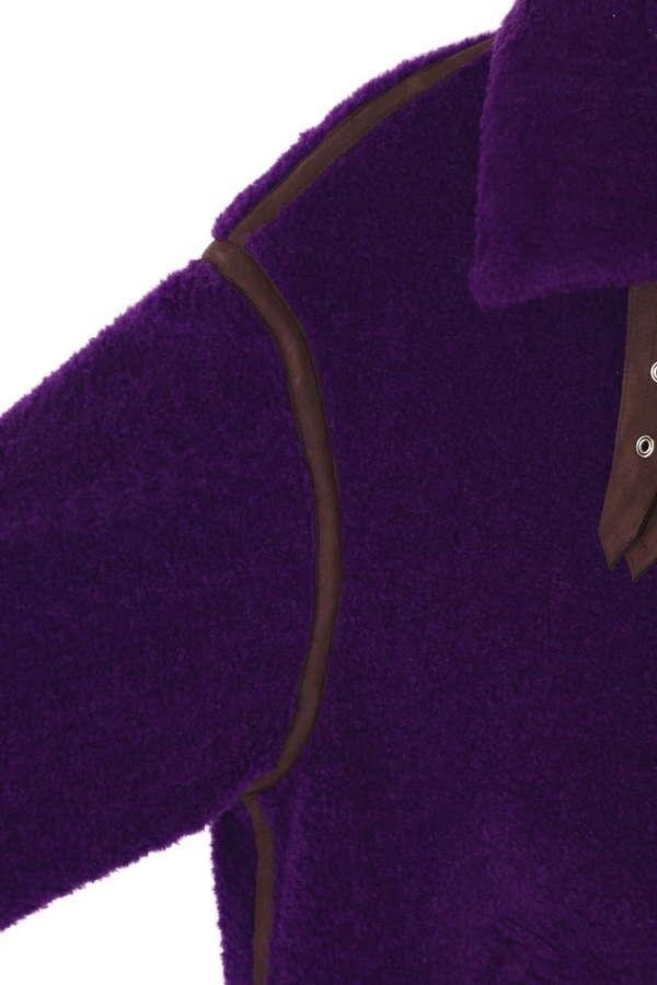 パイル裏毛フライトジャケット