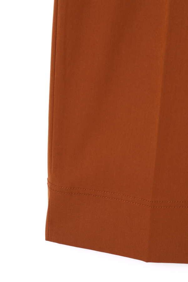 デザインベルトストレートパンツ