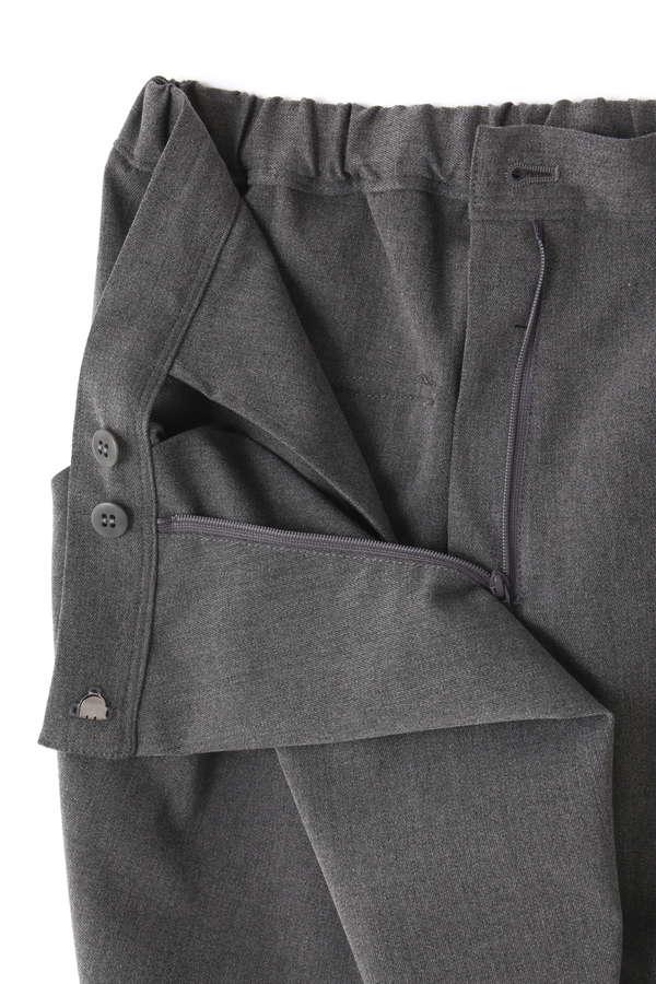 CROSS FRONT SAROUEL PANTS