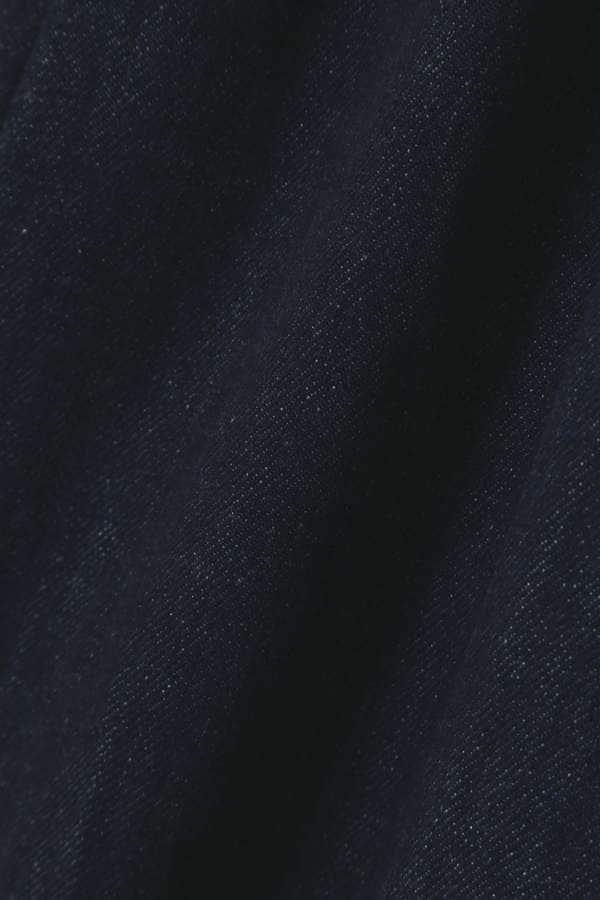 サスペンダー付きハイウエストワイドパンツ