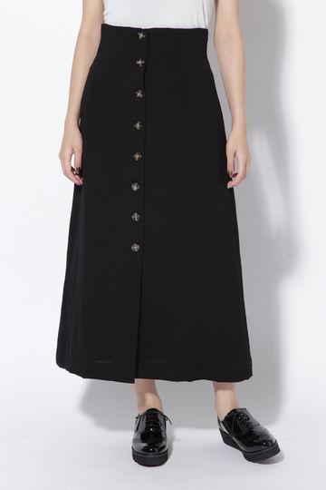 フレアボタンダウンスカート