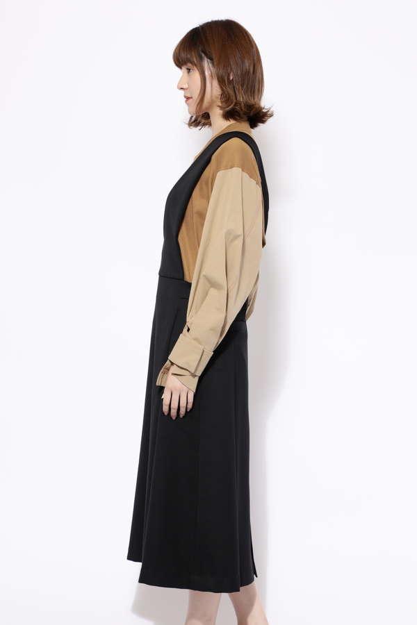 Aラインジャンパースカート