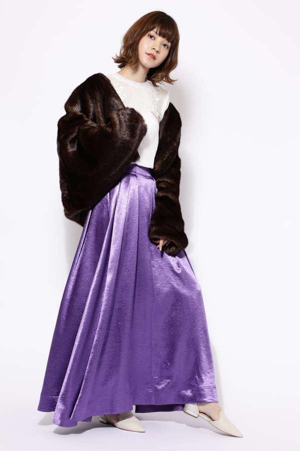 オリジナルプリントマキシスカート