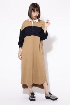 ラガーシャツワンピース