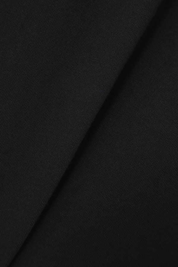 【ROSE BUD別注】CHAMPIONロゴリブ襟ロングワンピース
