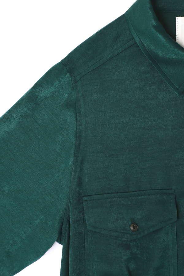 2POCKET FRINGE TIERED DRESS