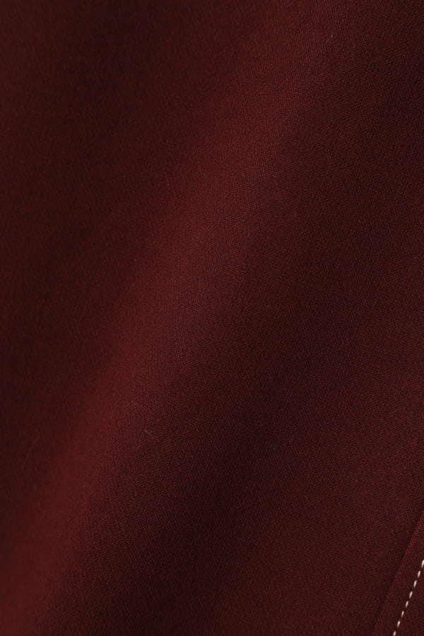 配色ステッチジャンパースカート
