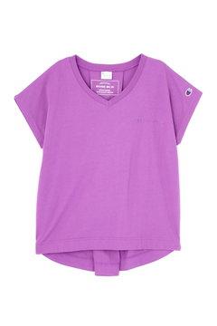 【ROSE BUD別注】ChampionVネックTシャツ